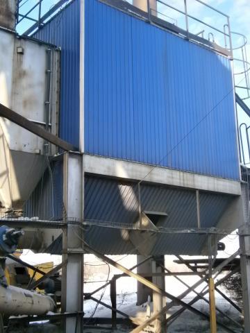 В 2020г. в г. Омске (БУ г. Омска «УДХБ») был проведен ремонт Установки рукавного фильтра асфальтосмесительной установки Teltomat
