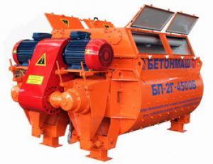 Двухвальный бетоносмеситель БП-2Г-4500 (3375)