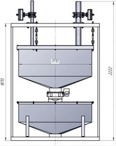 Дозатор воды ВД